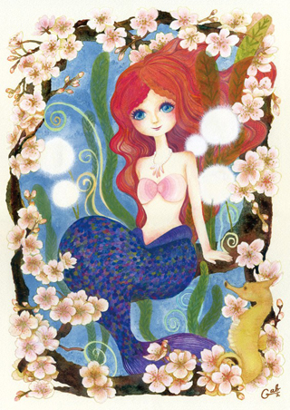 ARTs*LABo賞 : GAB GAB : 海桜-sea of coral cherry blossom-